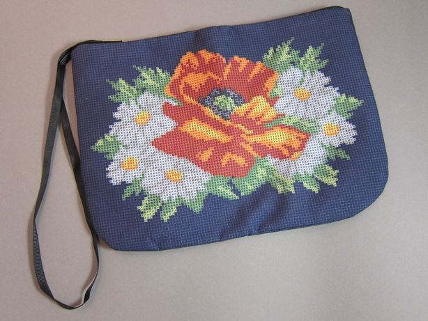 Косметичка - заготовка под вышивку нитками или бисером