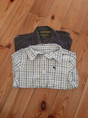 Dwie koszule chłopięce 110