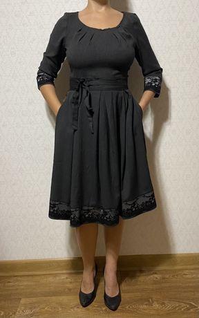 Женское платье с драпировкой РАСПРОДАЖА