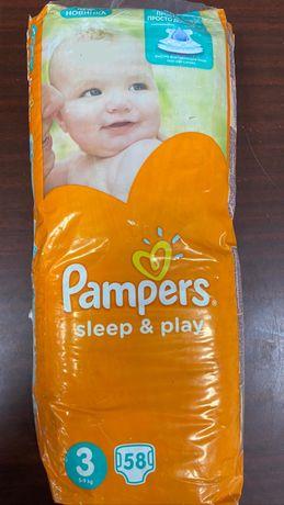 Пасперсы Pampers sleep and play 3