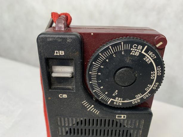 Stare radio przenośne ZSRR