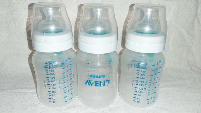 Антиколиковая бутылочка с клапаном Airfree Philips Avent