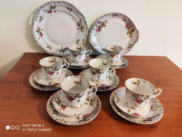 porcelanowy serwis do kawy/herbaty - fabryka porcelany Chodzież