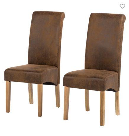 Krzesło tapicerowane do kuchni salonu Nello 2 szt. M002