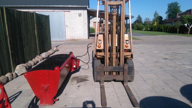 Betoniarka łyżkowa, mieszalnik: hydrauliczny 400 L, 600L.