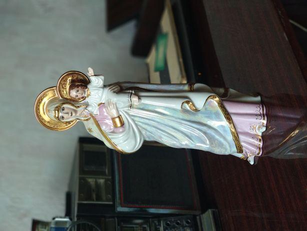 Фарфоровая статуэтка Богоматерь Коростень