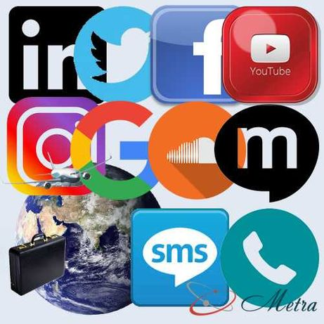 Сим-карты Водафон  Разная Серия номеров Для популярных соцсетей  ФБ и