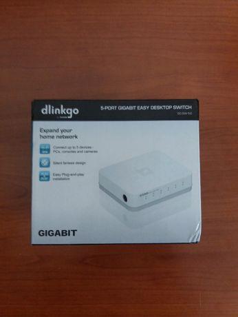 Switch DLinkgo Gigabit 5 Portas 10/100/1000Mbps
