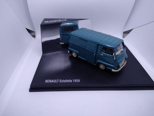Renault esttafete. Miniatura.