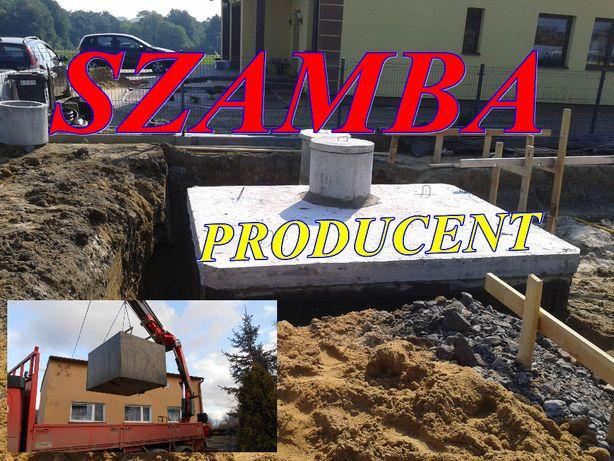 Zbiorniki na szamba SZAMBO betonowe tanio 8m3 inne TANIO