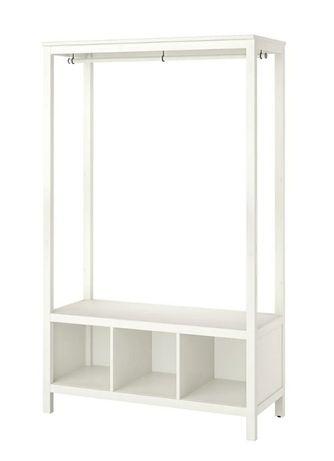 Roupeiro aberto IKEA HEMNES