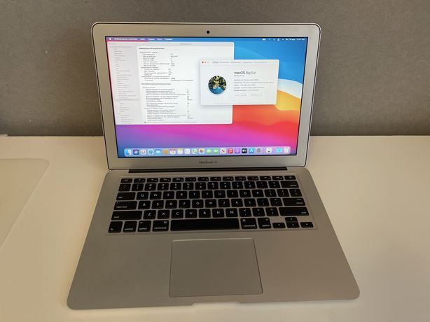 """MacBook AIR 13"""" 2015 i5 8Gb 128Gb проверенный, рабочий, без нюансов"""