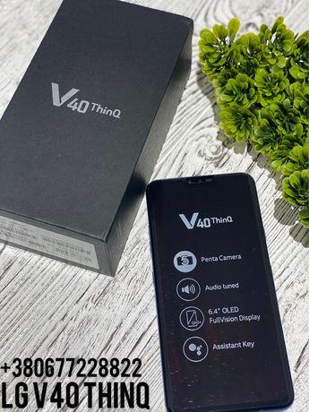 Новый LG V40 ThinQ Оригинал,Black,Лдж В40 New