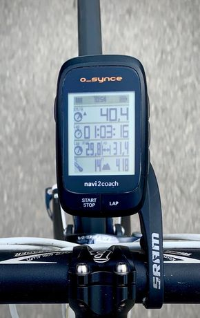 Nawigacja rowerowa GPS O-synce Navi2coach
