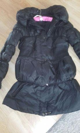 Zimowa taliowana kurtka XL