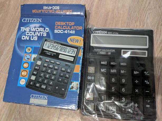 Калькулятор большой новый CITIZEN