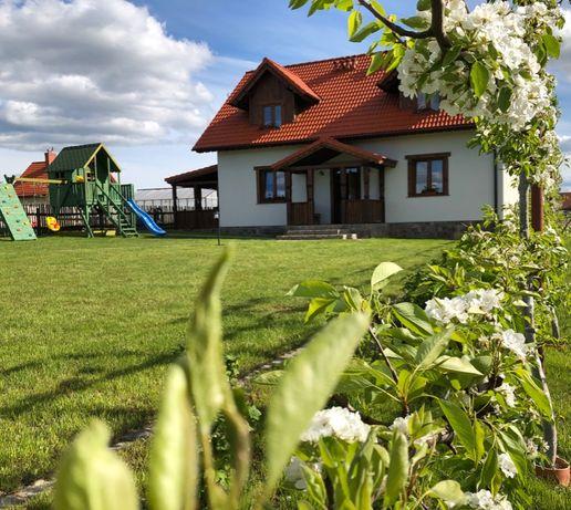 Dom na wyłączność na mazurach nad jeziorem