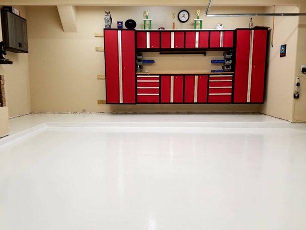 Biała zywica epoksydowa beton posadzka podłoga 10kg =20m2 satyna