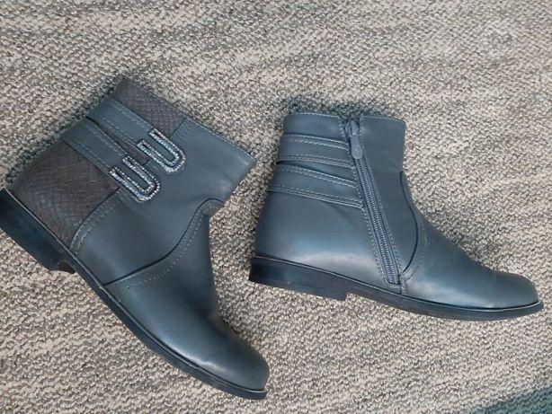 Полусапожки/ботиночки для девочки, р-р 34-35