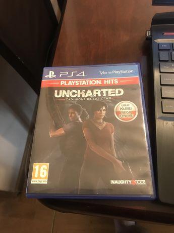 Gra na playstation 4 - Uncharted Zaginione Dziedzictwo PL PS4