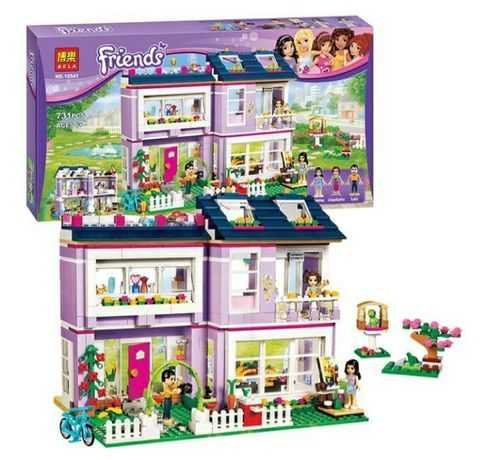 "Конструктор бела френдс 10541 ""дом Эмми"" (аналог LEGO friends)"