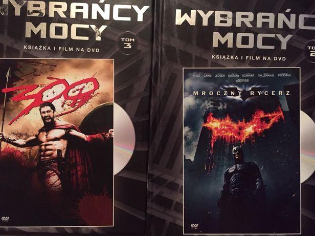Film DVD Wybrańcy mocy 300 Mroczny Rycerz