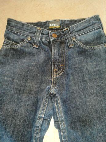 Spodnie LEE r.134 jeans.