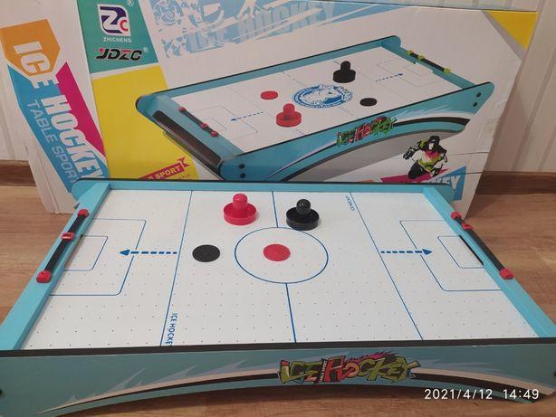 Детский воздушный хоккей, аэрохоккей, на батарейке, 3022