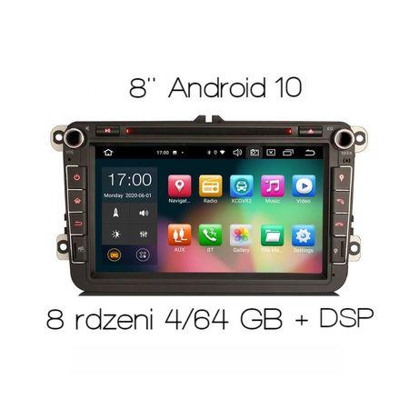 Radio 2din Android Skoda Octavia Fabia Roomster Carplay DSP 8105