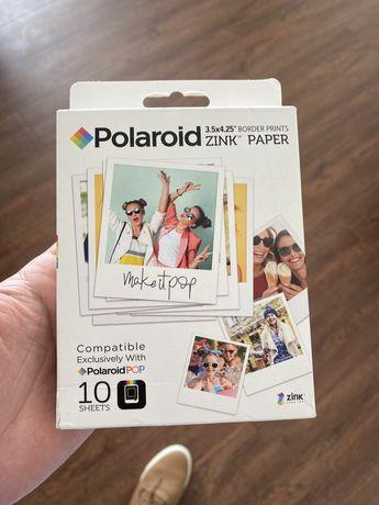 Carga Polaroid Pop - 10 Folhas - Zink Paper