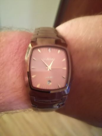 RADO zegarek bordo wiśniowy