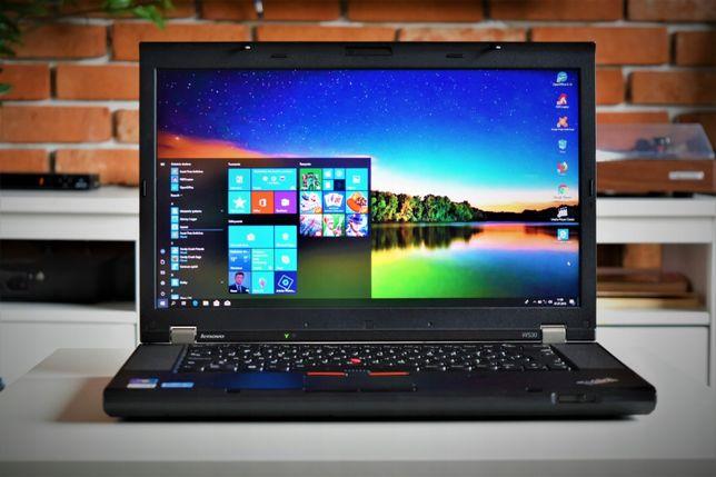 Laptop Poleasingowy Lenovo ThinkPad W530 |i7-Quad|8GB|256SSD|IPS|Win10