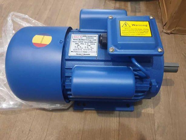 Однофазный электродвигатель для сети 220В, мотор, Румыния