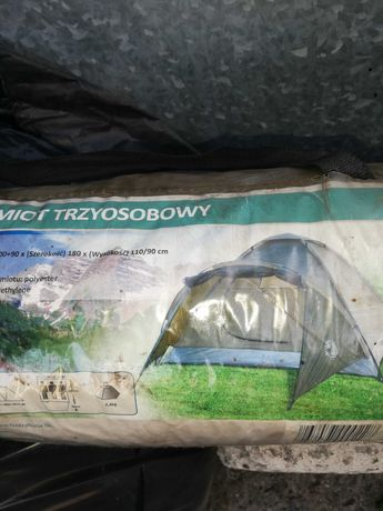 Namiot 3 osobowy nie uzywany