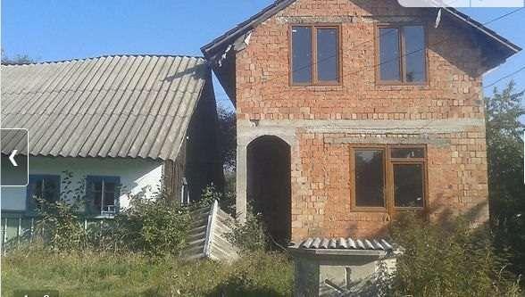 """Продам будинок незавершений будівництвом Чернівецька Глибока Кам""""янка"""
