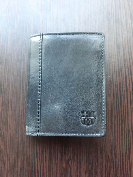 продам кожаный кошелёк ФК Барселона