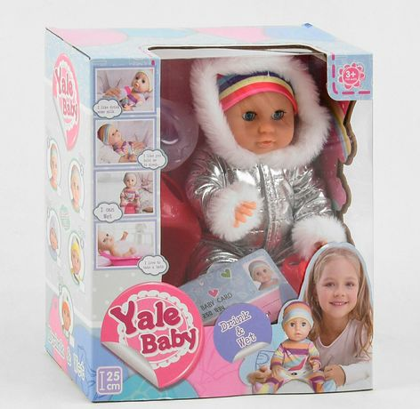 Кукла лялька беби Борн baby пупс 25 см, аксессуары