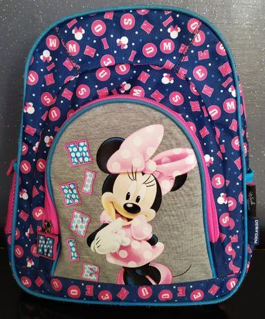 Disney plecak wycieczkowy zerówka przedszkole Minnie + piórnik Minnie