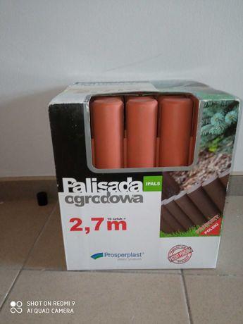 Palisada ogrodowa wysoka 2,7 m Ipal5