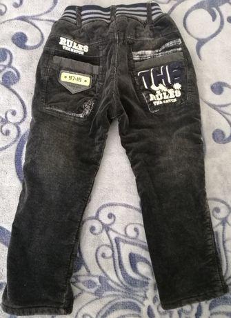 Зимние брюки на мальчика