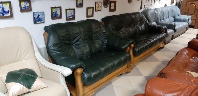 Шкіряний диван, комплект кожаной мебели, кожаный диван
