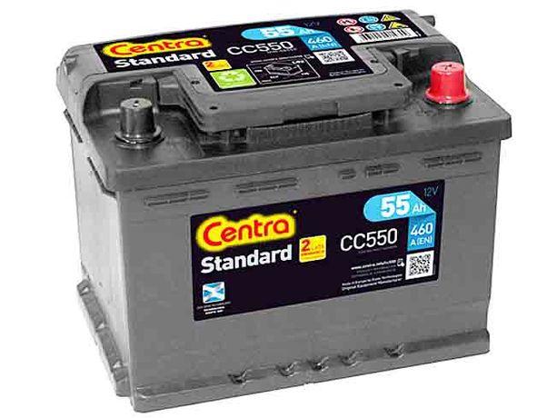 Akumulator CENTRA STANDARD 12V 55Ah 460A CC550 +Rabat