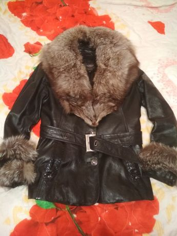 Куртка кожа!