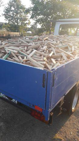 Drewno na rozpałkę suchę ćięte z transportem rozpałka