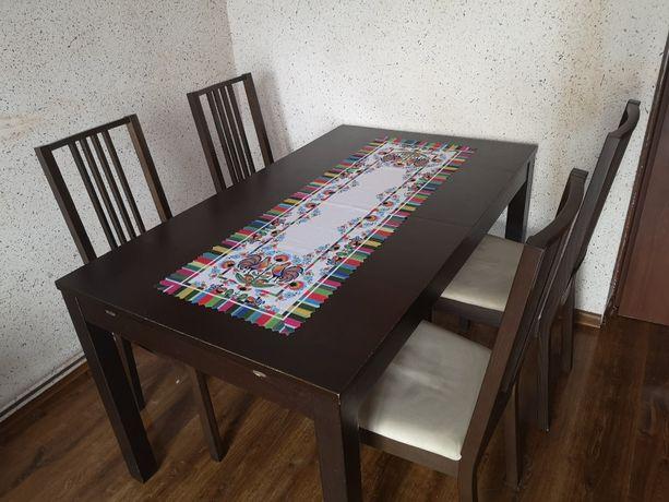 Zestaw stół+4 krzesła