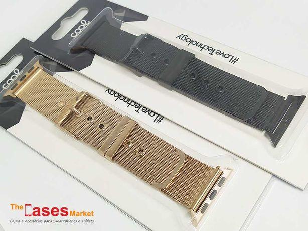 Braceletes alumino para Apple Watch Series 1 / 2 / 3 / 4 / 5 / 6 / SE