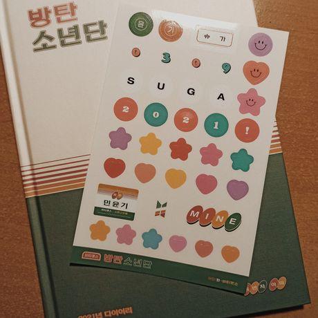 BTS kalendarz/pamiętnik 2021 seasons greetings kpop bangtan