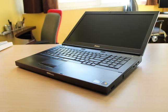 Ноутбук линкор DELL i7 8 ядер \8GB(4 слота)\750HDD\Quadro 2GB\подсвет