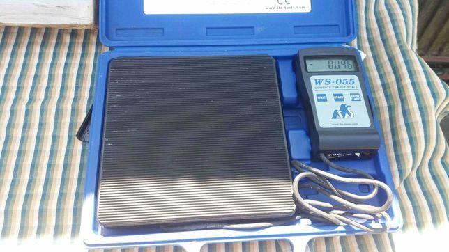 Balança electronica digital para carga de Fluidos Frigorigéneos