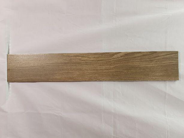 Wood Chevron brązowy 15x90 cm